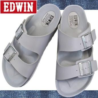EDWIN エドウィン EW9001 グレー メンズ サンダル EW 9001 コンフォートサンダル シューズ 靴 EW 9001