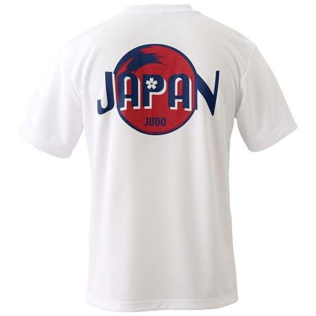 MIZUNO SHOP [ミズノ公式オンラインショップ] 柔道日本代表応援Tシャツ[ユニセックス] 01 ホワイト 22JA7501