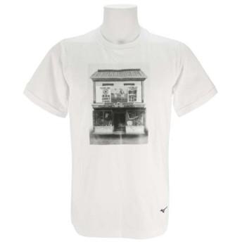 MIZUNO SHOP [ミズノ公式オンラインショップ] オリジナルTシャツ【水野兄弟社】[メンズ] 01 ホワイト 12JA8Q67