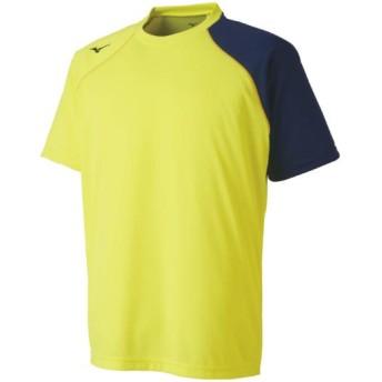 MIZUNO SHOP [ミズノ公式オンラインショップ] Tシャツ[ユニセックス] 44 セーフティーイエロー 62JA8070