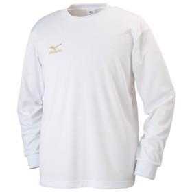 MIZUNO SHOP [ミズノ公式オンラインショップ] Tシャツ(長袖)[メンズ] 01 ホワイト 32JA6132