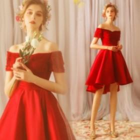 結婚式 お呼ばれ パーティードレス フォーマルドレス 着痩せ 結婚式ドレス 大人 上品 20代30代40代 不規則ワンピース