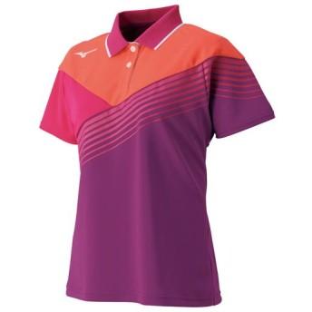 MIZUNO SHOP [ミズノ公式オンラインショップ] ゲームシャツ(ラケットスポーツ)[レディース] 67 クローバー 62JA8202