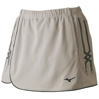 MIZUNO SHOP [ミズノ公式オンラインショップ] スカート(インナー・ポケット付き/ラケットスポーツ)[レディース] 04 シルバーグレー 62JB7203