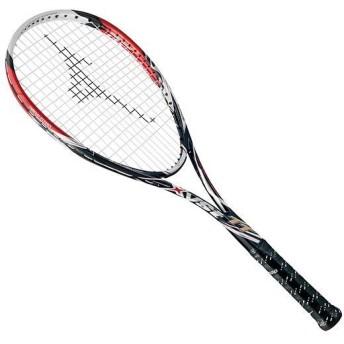 MIZUNO SHOP [ミズノ公式オンラインショップ] ジスト TT(ソフトテニス) 62 ブラック×レッド 63JTN622