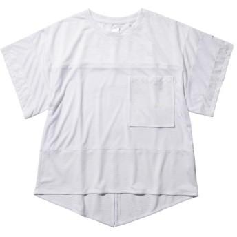 MIZUNO SHOP [ミズノ公式オンラインショップ] メッシュTシャツ[レディース] 01 ホワイト D2MA8210