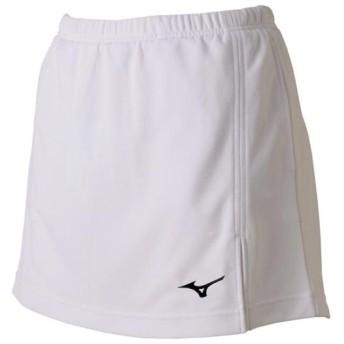 MIZUNO SHOP [ミズノ公式オンラインショップ] スカート(ラケットスポーツ)[ジュニア] 01 ホワイト 62JB7204_j