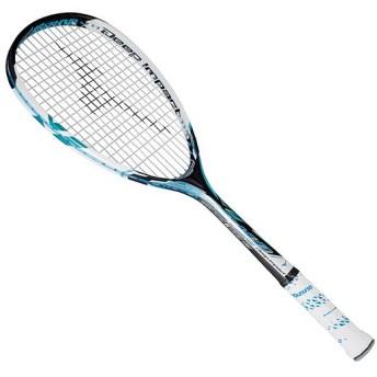 MIZUNO SHOP [ミズノ公式オンラインショップ] ディープインパクト Sコンプ(ソフトテニス) 24 ジェムブルー 63JTN551