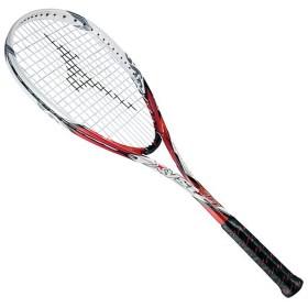 MIZUNO SHOP [ミズノ公式オンラインショップ] ジスト T1(ソフトテニス) 62 レッド×ホワイト 63JTN521
