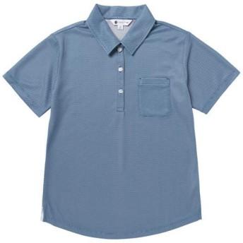 MIZUNO SHOP [ミズノ公式オンラインショップ] アイスタッチ半袖ポロシャツ[レディース] 23 ディープウォーター B2JA8243