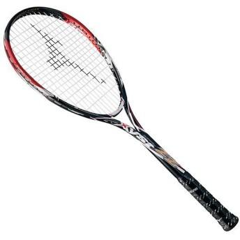MIZUNO SHOP [ミズノ公式オンラインショップ] ジスト ZZ(ソフトテニス) 62 ブラック×レッド 63JTN602