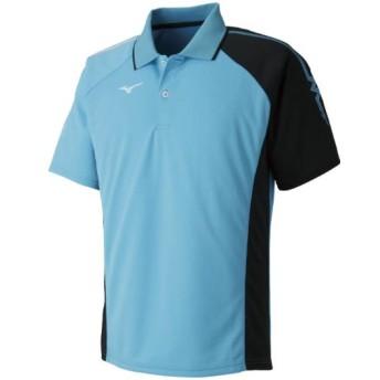 MIZUNO SHOP [ミズノ公式オンラインショップ] ゲームシャツ(ラケットスポーツ)[ジュニア] 21 ブルーアトール 62JA8015_j