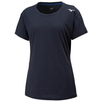 MIZUNO SHOP [ミズノ公式オンラインショップ] Tシャツ[レディース] 09 ブラック 32MA8212