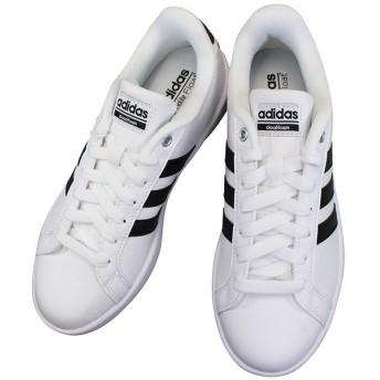 アディダス AW4294 クラウドフォーム バルストライプス ホワイト/ブラック CLOUDFOAM VALSTRIPES シューズ 靴 ひも靴