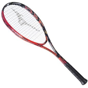 MIZUNO SHOP [ミズノ公式オンラインショップ] ジスト T-ZERO(ソフトテニス) 62 ソリッドブラック×フレイム 63JTN731