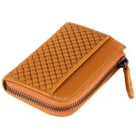 MIZUNO SHOP [ミズノ公式オンラインショップ] グラブ革ファスナー付財布(型押し) 59 USAコルク 1GJYG01200