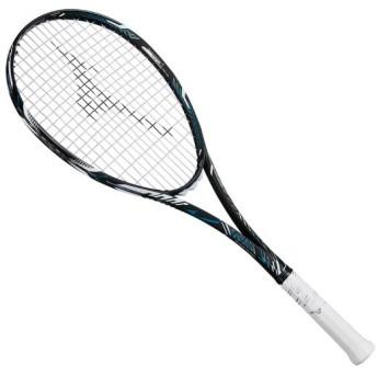 MIZUNO SHOP [ミズノ公式オンラインショップ] ディオス50-R(ソフトテニス) 27 ハイブリッドブラック×フューチャーブルー 63JTN865