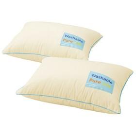 洗える清潔枕クッション2P まくら