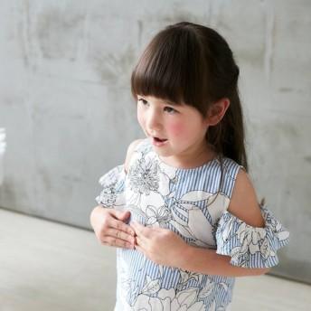 (子供服)コットン - 華麗な花火