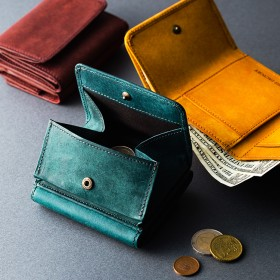 【HIS-FACTORY】三つ折り財布 tino