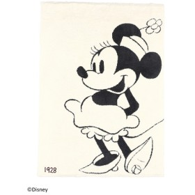 BAREFOOT DREAMS ベアフットドリームズ D104 Classic Minnie Mouse Blanket cream