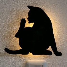 LEDライト Thats Light! CAT WALL LIGHT けづくろい ( 足元灯 LED 猫 フット ライト ウォールライト ねこ おしゃれ センサーライト 屋