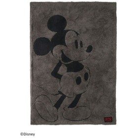 BAREFOOT DREAMS ベアフットドリームズ D104 Classic Mickey Mouse Blanket dark brown