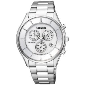 腕時計 メンズ CITIZEN COLLECTION AT2362-02A コレクション エコドライブ 薄型クロノグラフ ソーラー シチズン