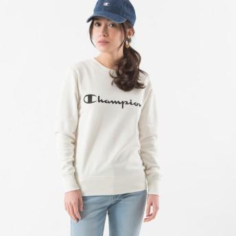 ウィメンズ クルーネックスウェットシャツ 19SS チャンピオン(CW-K015)【5400円以上購入で送料無料】