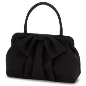 東京ソワール リボンデザインクラシカルバッグ