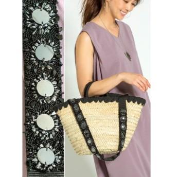 スタイルデリ 01 deco long strap basket bag レディース ブラック F(フリーサイズ) 【STYLE DELI】