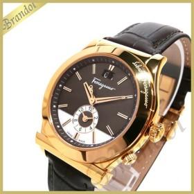 フェラガモ Ferragamo メンズ 腕時計 1898 40mm ブラウン×ローズゴールド F62LDT5095S497 [在庫品]