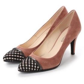 アンタイトル シューズ UNTITLED shoes パンプス (ダークブルー)