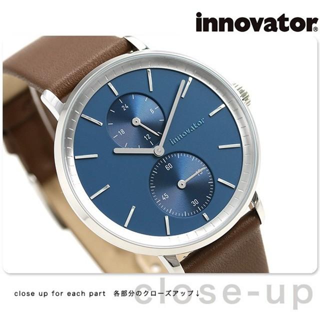 25日はさらに+4倍でポイント最大30倍! イノベーター オーリカー スモールセコンド 39mm IN-0004-5 Innovator メンズ 腕時計