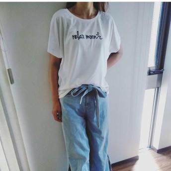 aloha ドルマンTシャツ