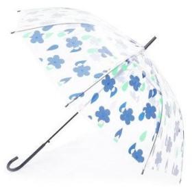 ダブリュピーシー w.p.c 雨傘 ビニール傘 (花と雨NV)