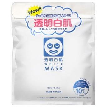 透明白肌 ホワイトマスクN 10枚入り 6個セット 即日発送