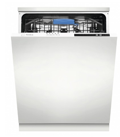 Amica  ZIV-615T 15人份 全崁式洗碗機  220V 歐盟評鑑: 洗淨力 A 級 烘乾效果 A 級 能源效率 A++ 級