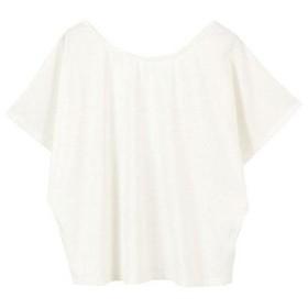 ティティベイト titivate ゆるラウンドネックTシャツ (ホワイト)