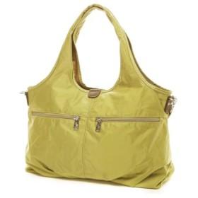 Happy&Sac 色展開豊富な2WAY軽量はっ水ナイロントートバッグ A4対応