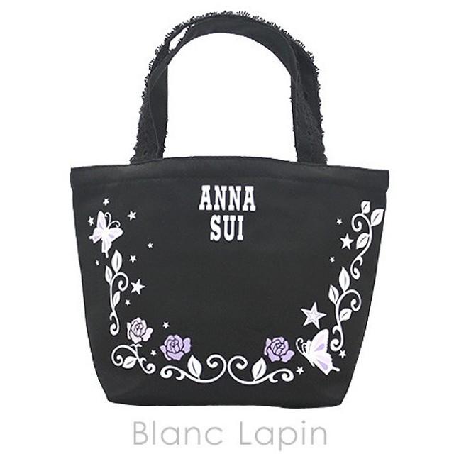 【ノベルティ】 アナスイ ANNA SUI トートバッグ #ブラック [034782]