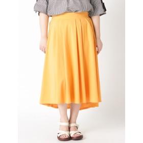 【大きいサイズレディース】【LL-3L】ゆったりサイズ!フィッシュテールスカート スカート フレアスカート