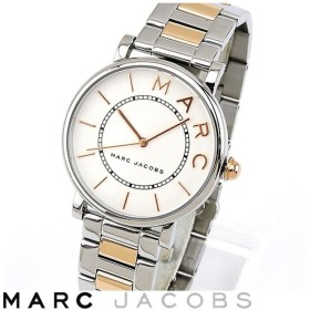 Marc Jacobs マーク ジェイコブス ROXY ロキシー アナログ レディース 腕時計 ピンクゴールド  ローズゴールド 銀 シルバー メタル MJ3551 海外モデル