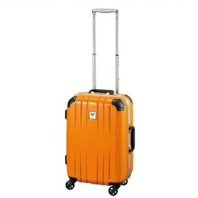 【World Traveler】スクォーク スーツケース【機内持込みサイズ】【1-2泊対応】 オレンジ
