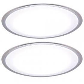 シーリングライト LED 14畳 天井照明 電気 おしゃれ 調色 CL14DL-5.0CF 照明器具 2台セット(1900469) アイリスオーヤマ (送料無料)