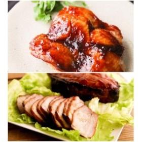 R003◇ジューシー淡路鶏もも肉の照り焼きと、手造り焼き豚セット