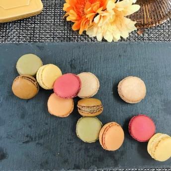 6種のマカロンセット/各2個全12個入り/カフェ、木いちご、トロピカル、ピスターシュ、柚子、ヴァニーユ/