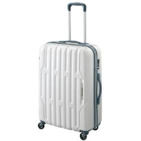 【World Traveler】アクシーノ スーツケース【4泊-1週間対応】 ホワイトカーボン