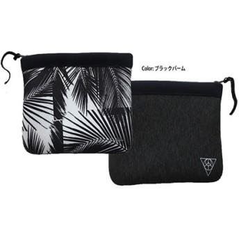 Rincon Beach-clutch-bag color:ブラックパーム