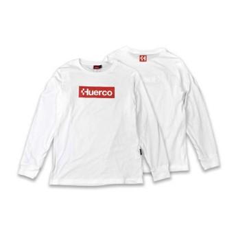 【送料無料】フエルコ(Huerco) CORDURA ロングスリーブTシャツ M オフホワイト 111021